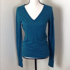 Victoria's Secret Long Sleeve Thermal Top Green M